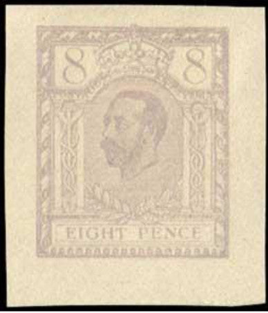 Great Britain 1911 8d Hentschel Essay