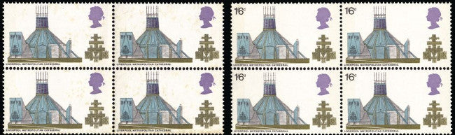 Great Britain 1969 Queen Elizabeth II 1s6d British Architecture. SG801a
