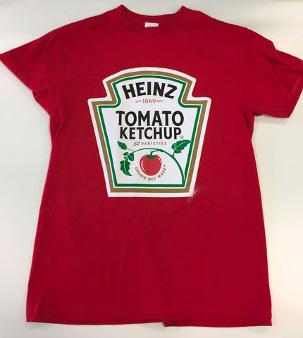 Ed Sheeran owned and worn Heinz Ketchup t-shirt