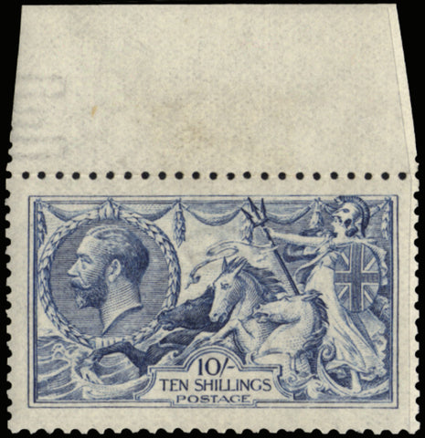 Great Britain 1915 King George V 10s Blue, SG412