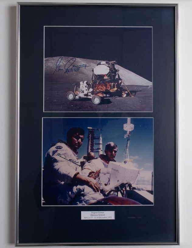 Moonwalkers signed photograph collection