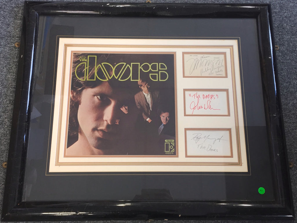 The Doors complete set of signatures
