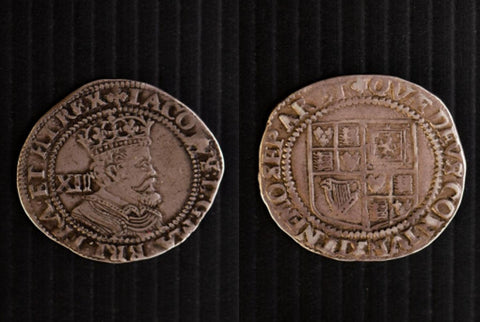 James I 1603-1625 Shilling 3rd coinage (1619-1624)