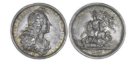 Great Britain Coronation of George 1714 Silver Medal