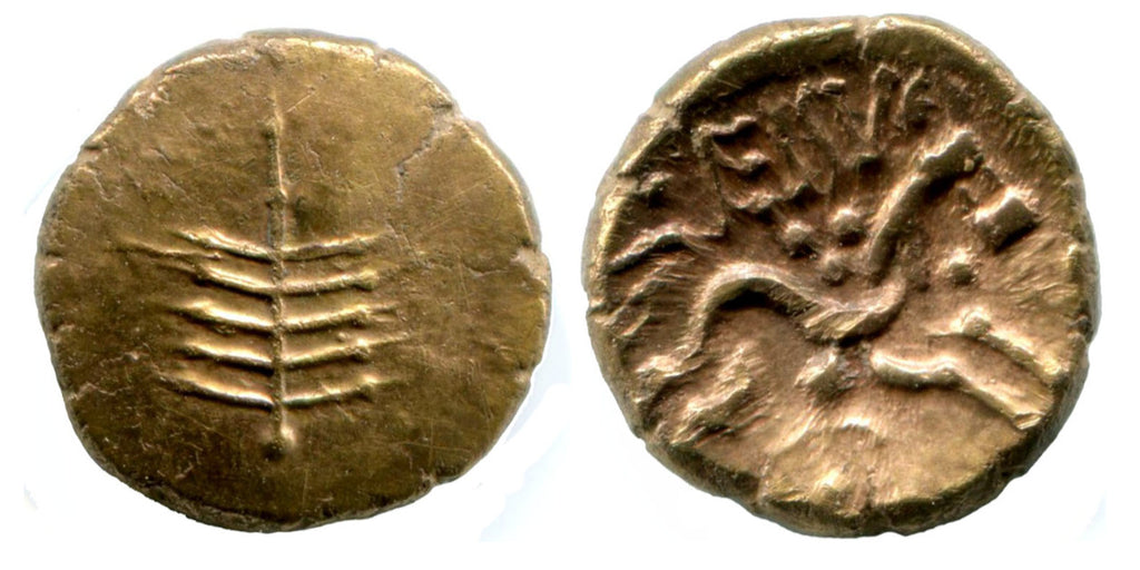 Celtic Britain DOBUNNI Eisu gold Stater