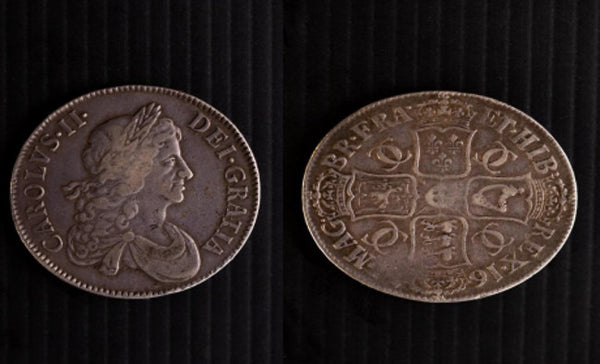 Charles II Crown 1671