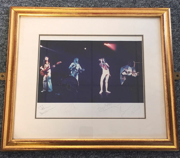 Queen signed photo