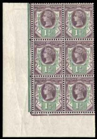 Great Britain 1887 1½d
