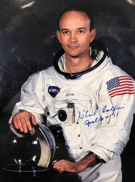 Apollo 11 crew signed photographs complete set