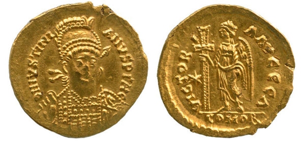 Ostrogoths Athalaric Gold Solidus