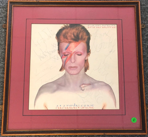 David Bowie signed Aladdin Sane LP