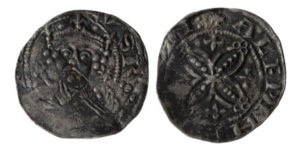 Henry I (1100-1135) Pellets in Quatrefoil Type