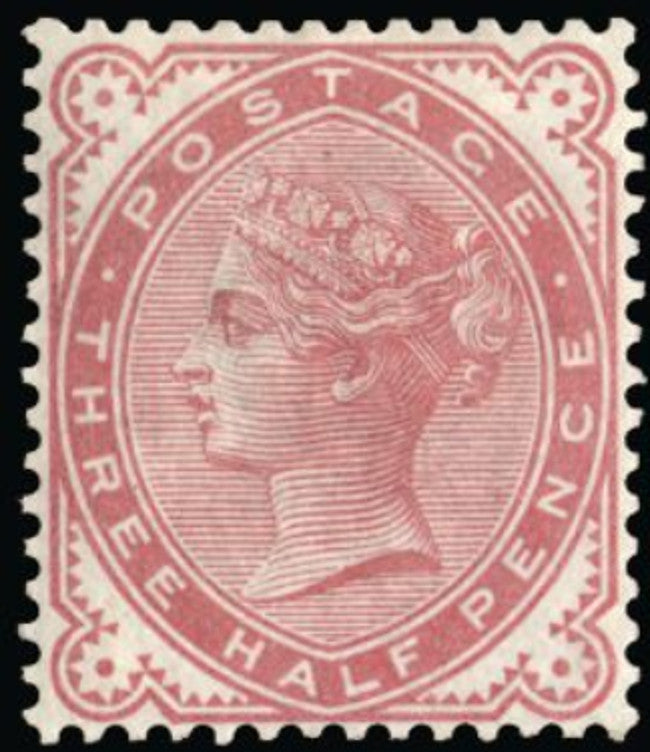 "Great Britain 1880 1½d ""Provisional issue"" colour trial. SG167var."