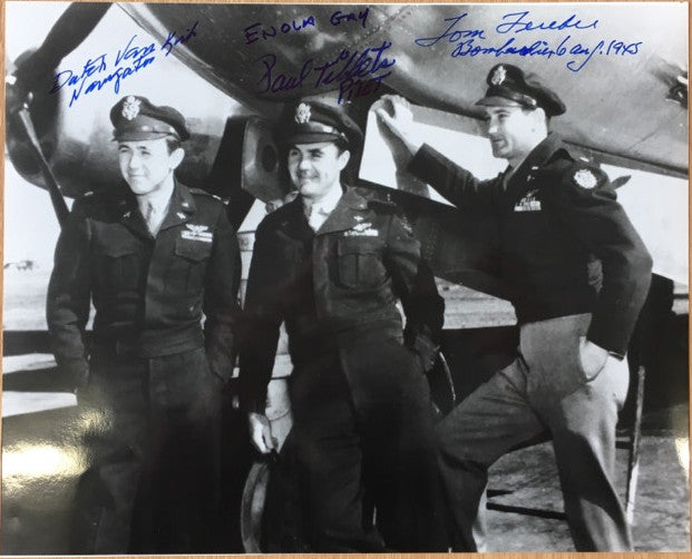 Enola Gay signed photograph