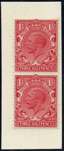 Great Britain 1934 1½d 'Photogravure' essay. SG441var