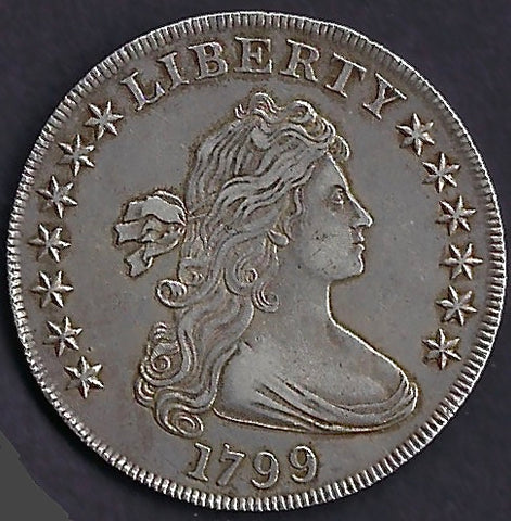 USA AR Dollar 1799 Good extremely fine