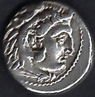 Macedon Alexander The Great posthumous Issue  AR 1dr Good extremely fine