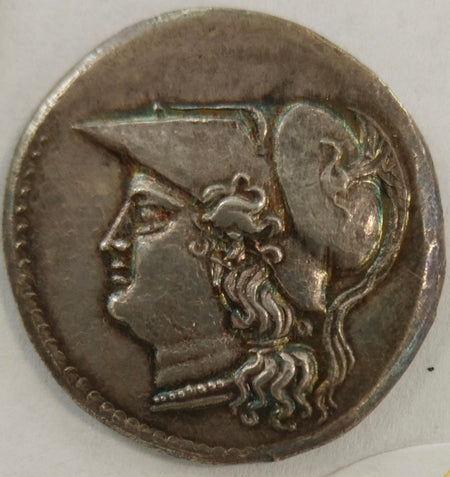 Ancient Greece – Silver 12 Litrai c. 214-12 BC