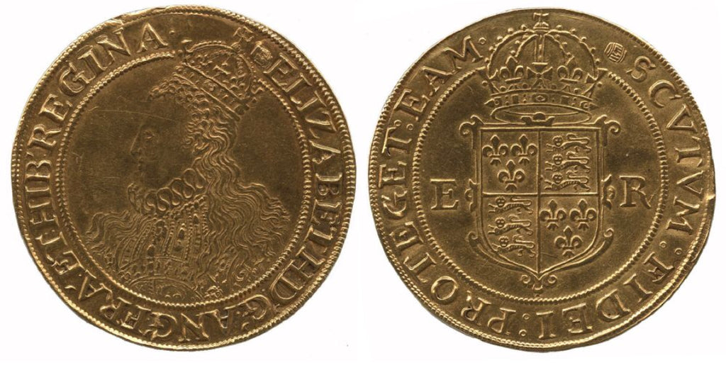 England Elizabeth I (1558-1603) Gold Pound of Twenty Shillings