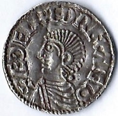 Aethelved II AR Penny. Lincoln. Adelnoth. Good very fine