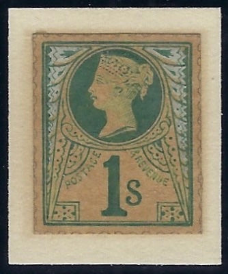 Great Britain 1885 1s 'Jubilee' Essay. SG212var