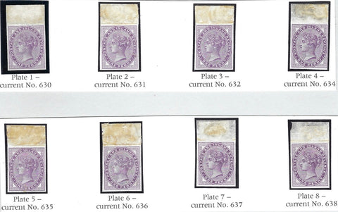 Great Britain 1881 1d Lilac (Die 1, Plates 1-8). SG170var