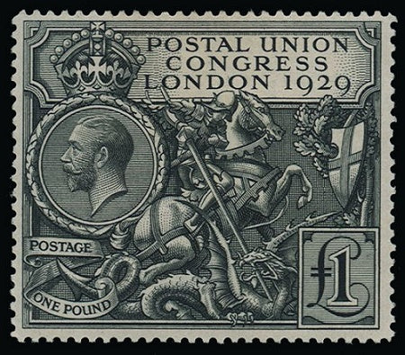 Great Britain 1929 £1 Postal Union Congress SG438