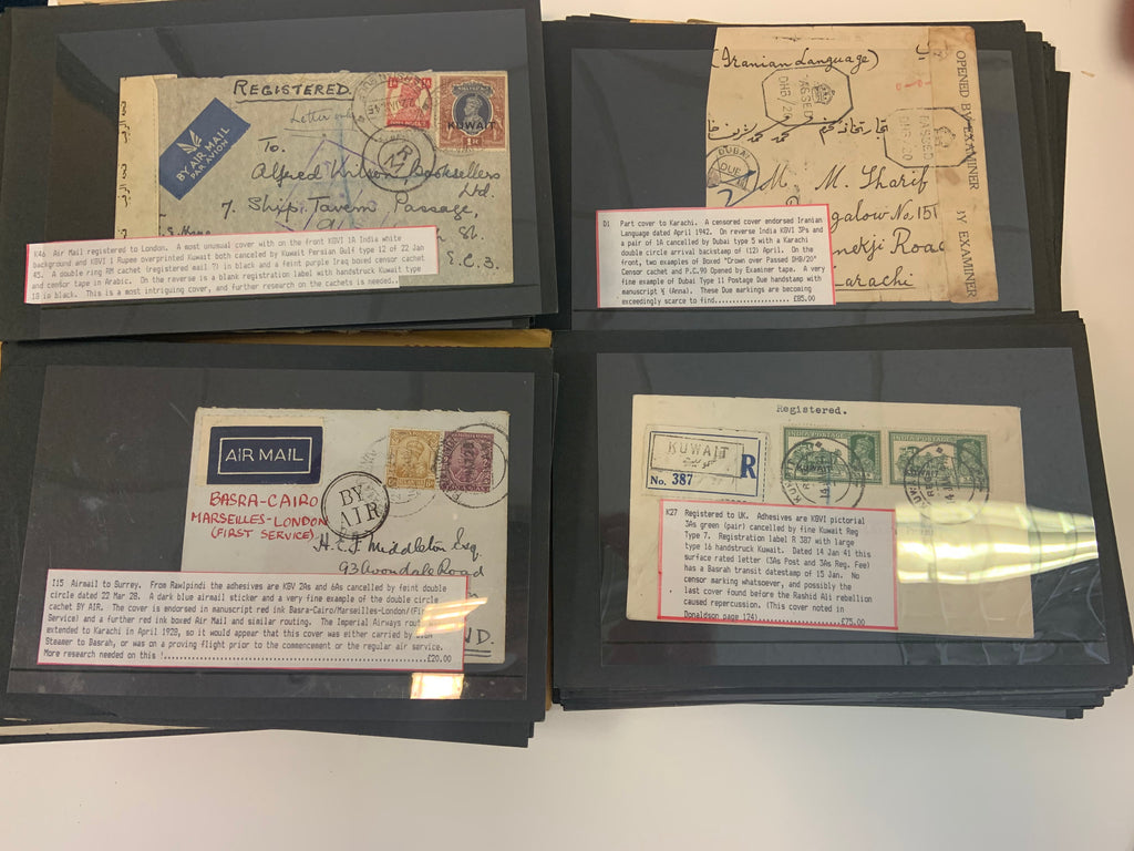 Kuwait, India and Iraq postal history