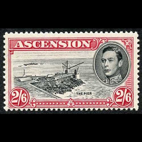Ascension 1938 King George VI SG45ca