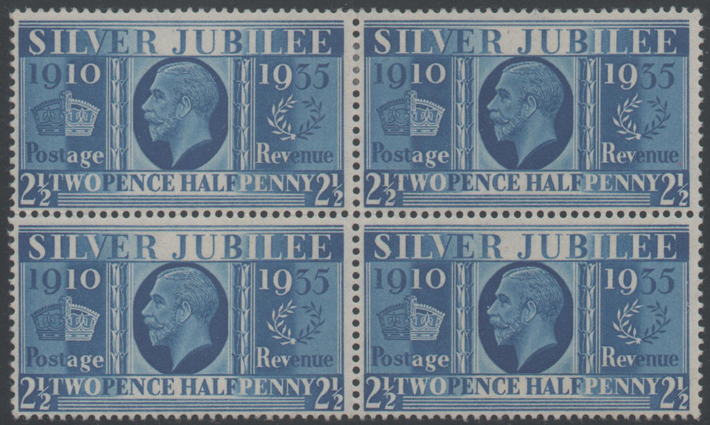Great Britain 1935 Prussian Blue 2½d, Mint SG456a
