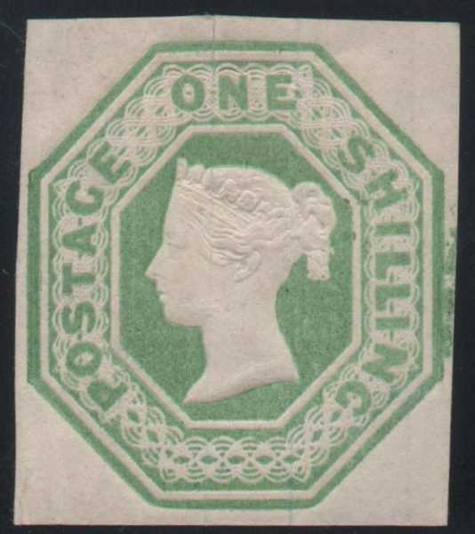 Great Britain 1847 1s. Pale Green, Mint SG54