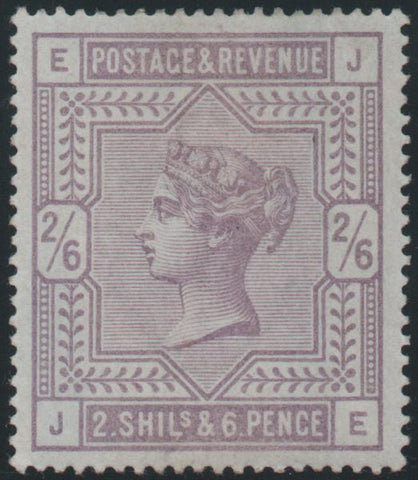 Great Britain 1883  2s.6d Lilac, Mint SG175