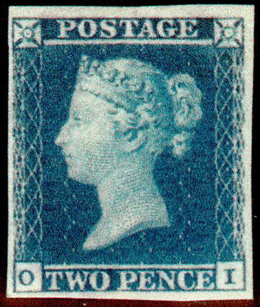 Great Britain 1851 2d Violet Blue, Mint SG15aa