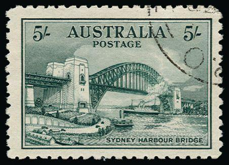 Australia 1932 'Sydney Harbour Bridge' 5s SG143