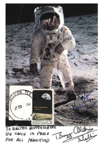 Apollo 11 signed photo