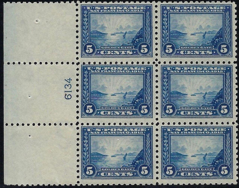 USA 1915 5c Panama-Pacific Exposition, Perf 10, SG430