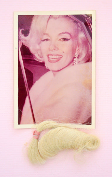 Marilyn Monroe 'Happy Birthday Mr President' lock of hair