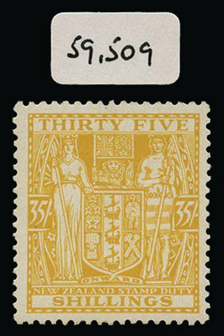New Zealand 1931-40 Postal Fiscal