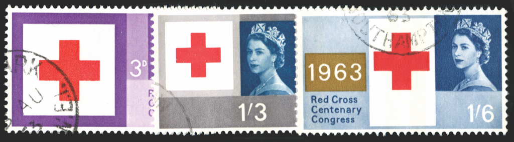 Great Britain 1963 Red Cross Centenary Congress, SG642/4p