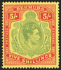 BERMUDA 1938-53 pale green and red/yellow (UNUSED), SG118a
