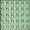ST LUCIA 1876 ½d on (6d) emerald-green (UNUSED), SG9