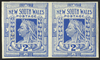 Australia New South Wales 1899 2d cobalt-blue, SG302a