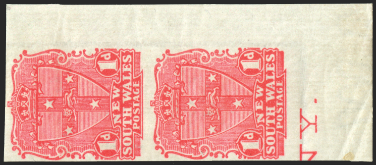 AUSTRALIA NEW SOUTH WALES 1897-99 1d rose-carmine (UNUSED), SG290c
