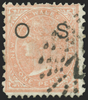 Australia New South Wales 1882-85 1d salmon Official, SGO19a