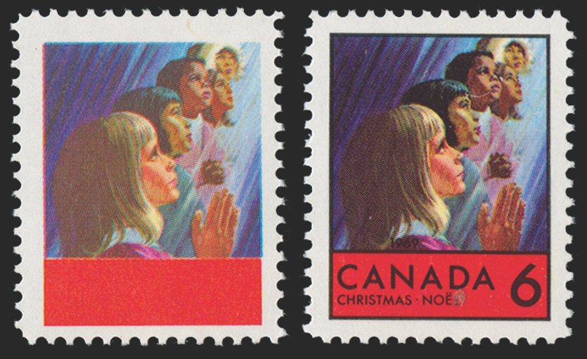 CANADA 1969 Christmas 6c error (UNUSED), SG645a