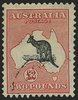 Australia 1931-36 £2 black and rose, wmk 15 used, SG138