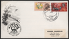 Great Britain 1963 3d-4½d Nature Week First Day Cover, SG637/8
