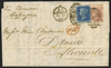 Great Britain 1869 Overseas Mail to Alicante, Spain, SG46, 113