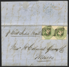 Great Britain 1850 Overseas Mail, Belfast to Mexico, SG55