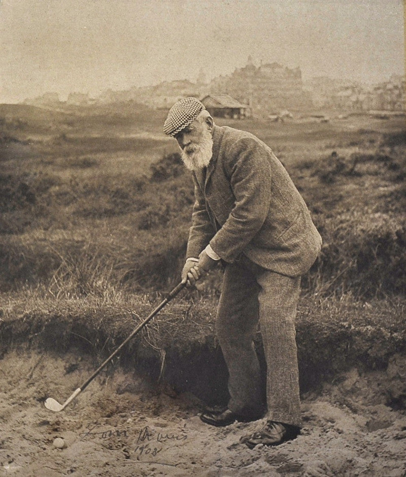 Old Tom Morris signed photograph